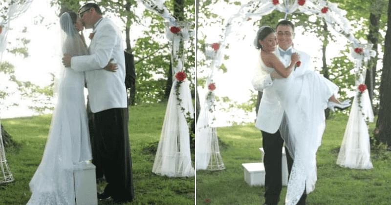 свадьба Нанетт Килмер и Ричарда