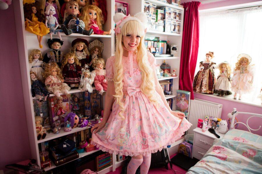 фарфоровая кукла Джейд
