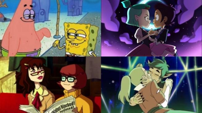 персонажи-трансвеститов из мультиков