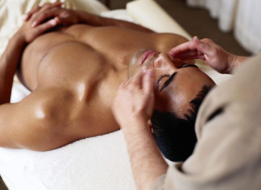массаж лица мужчине