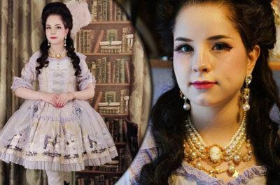 «Я живу в 18 веке – смотри на мою одежду!»