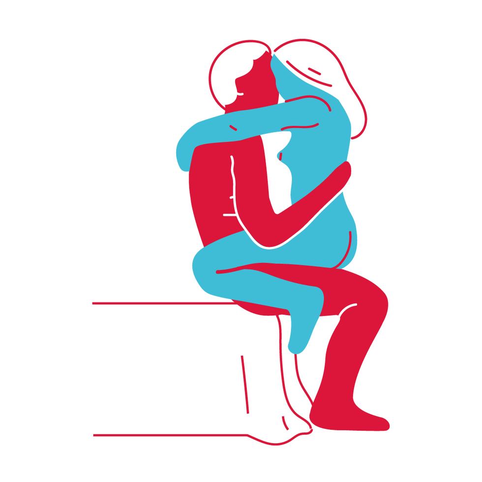 Позы для страстного секса: горячая десятка с картинками