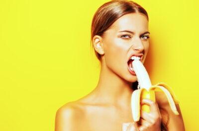 Как сексуально съесть банан?