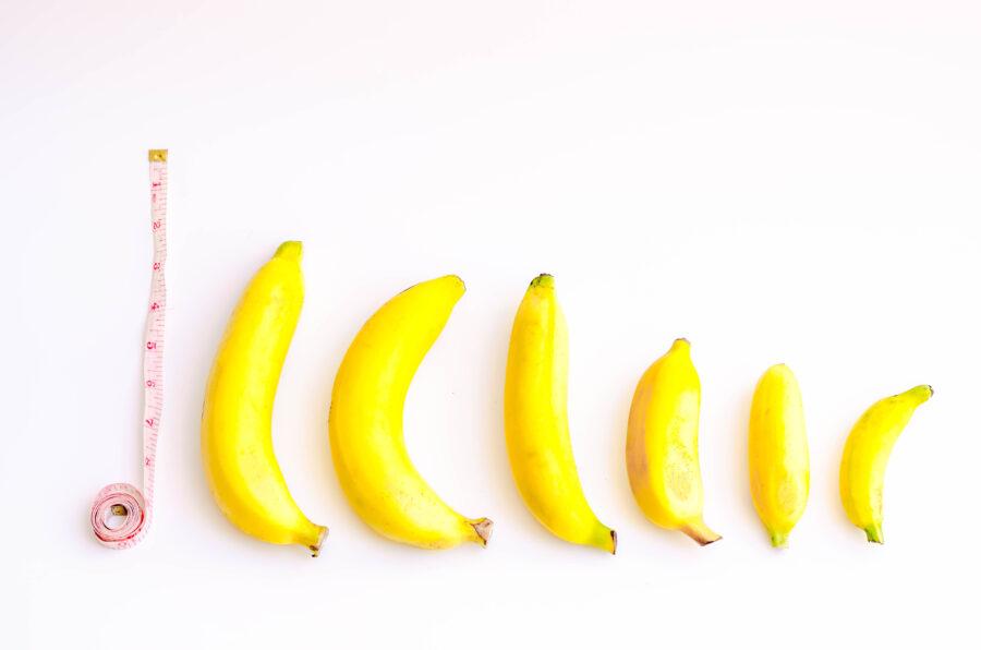 бананы разного размера