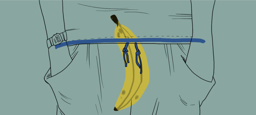 банан в штанах
