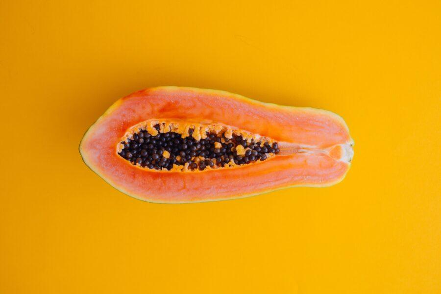 половинка папайи