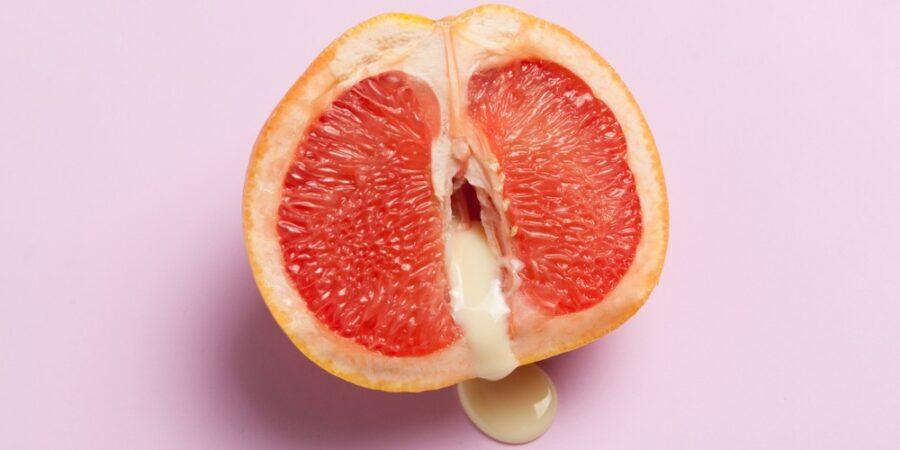 грейпфрут со сгущенкой