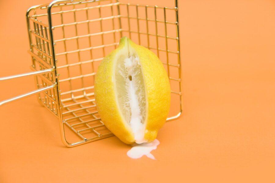лимон со сгущенкой
