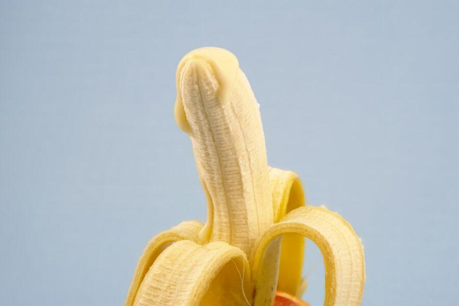 сгущенка на банане