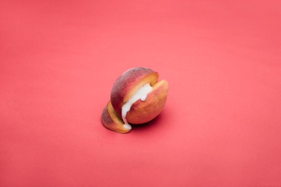 сгущенка в персике