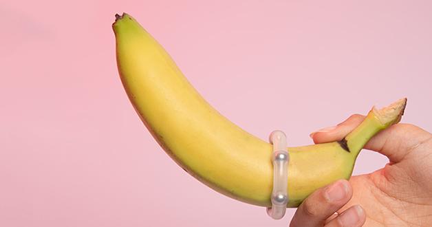 эрекционное кольцо на банане