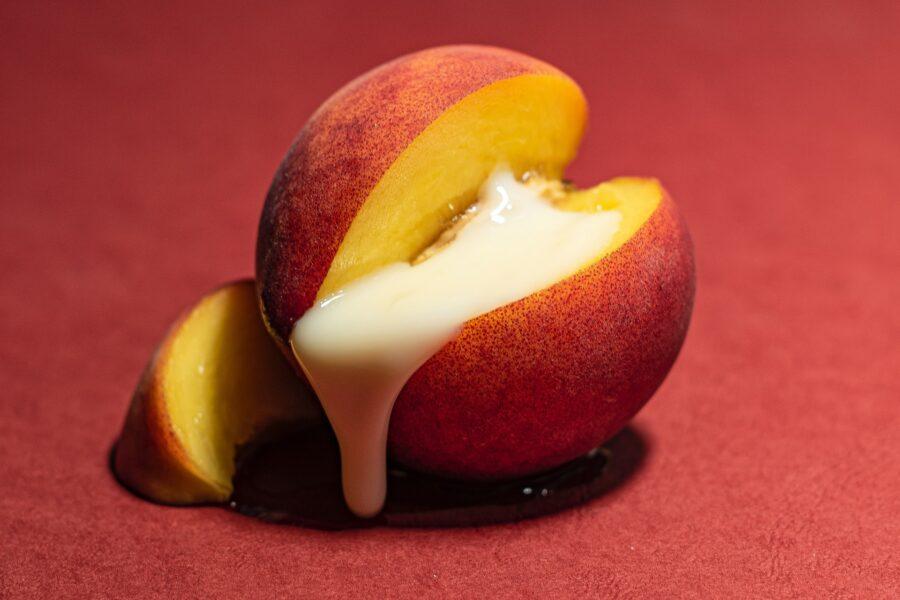 персик со сливками
