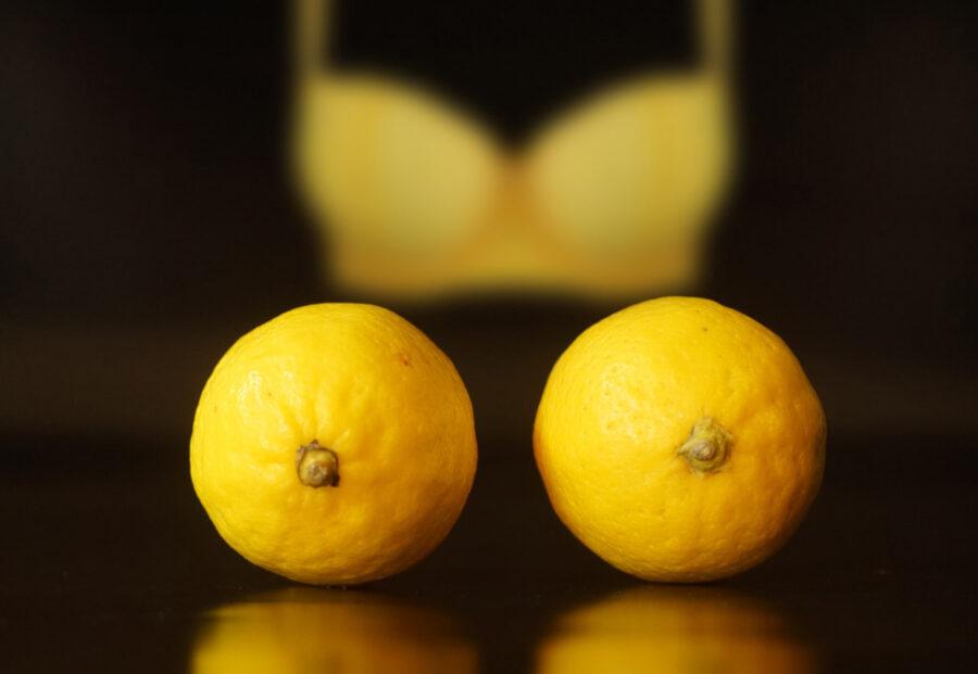 лимоны и лифчик