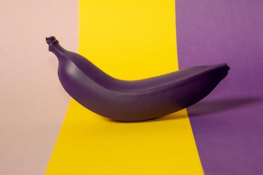 фиолетовый банан