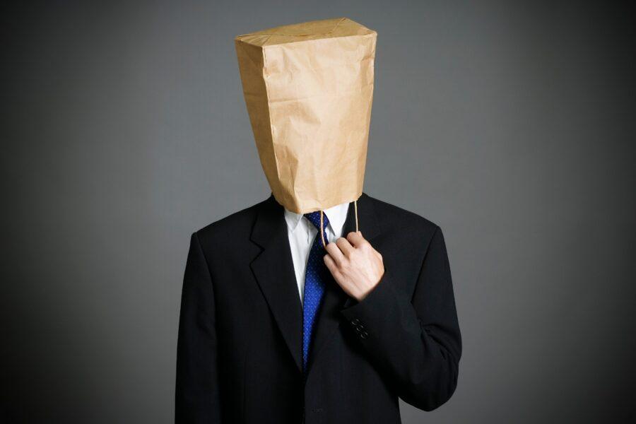 парень с пакетом на голове