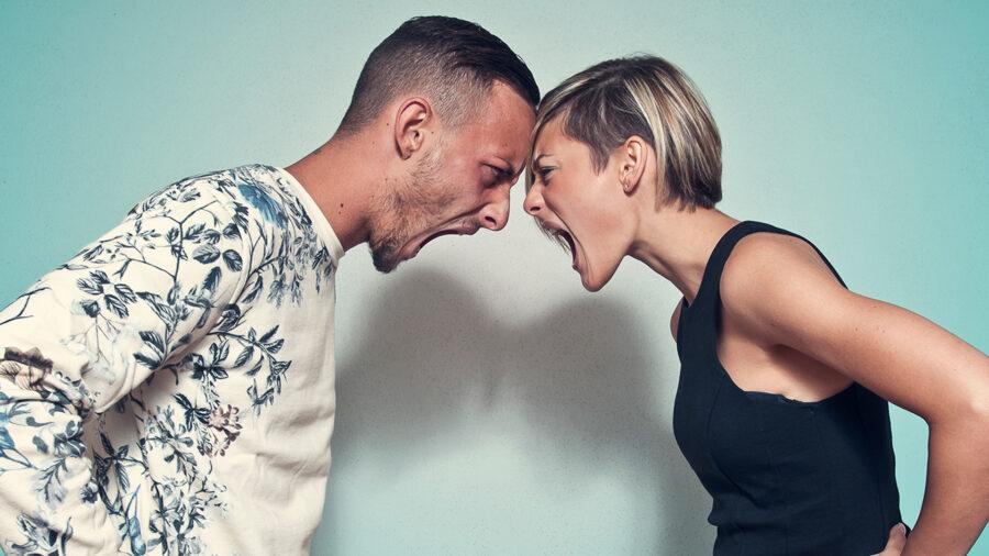 агрессивная пара
