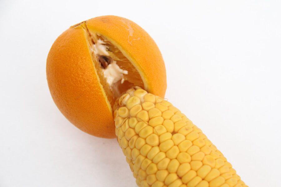 кукурузка в апельсине