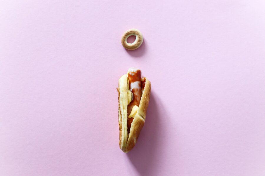 бублик и хот дог