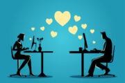 парень и девушка за компьютерами