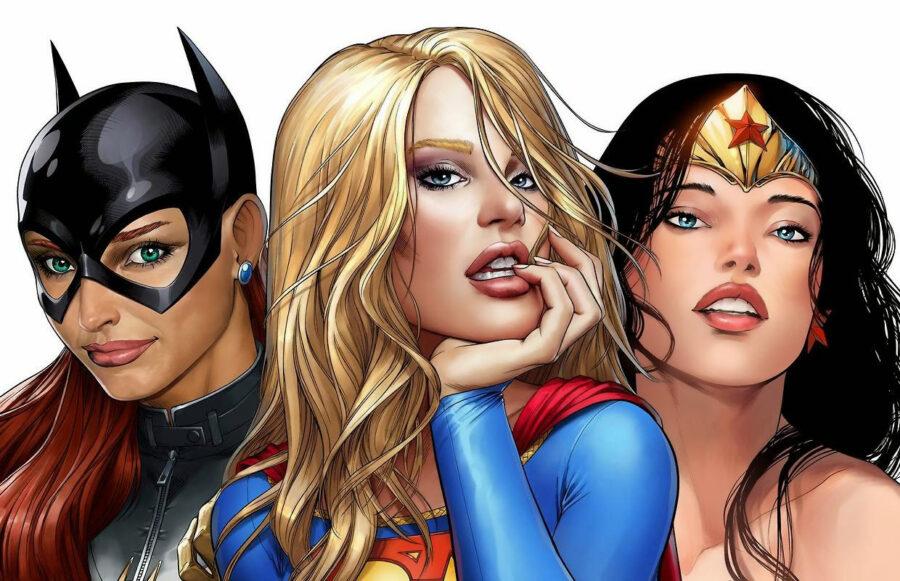 сексуальные супергероини