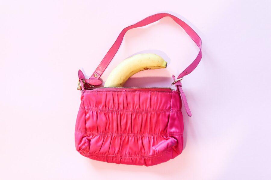 банан в сумке