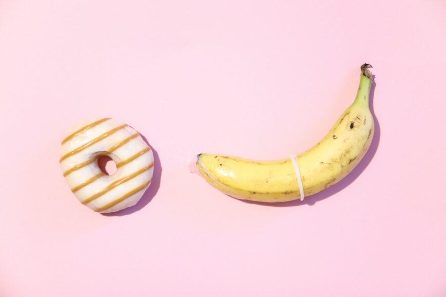 донатс и банан
