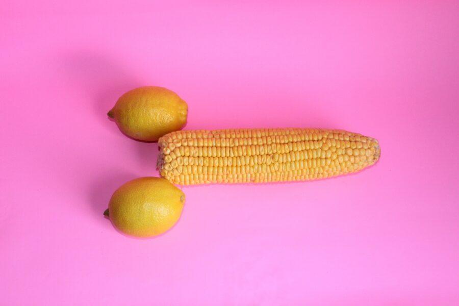 кукуруза и лимоны