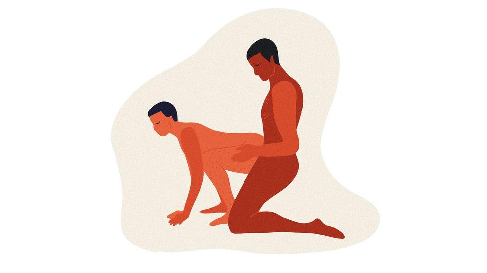 Нужные позы для анального секса: 20 наглядных картинок